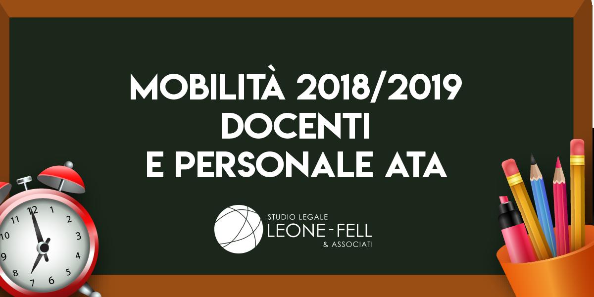 ricorso mobilit 2018 2019 tutte le illegittimit riscontrate