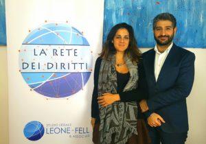 Simona Fell e Francesco Leone