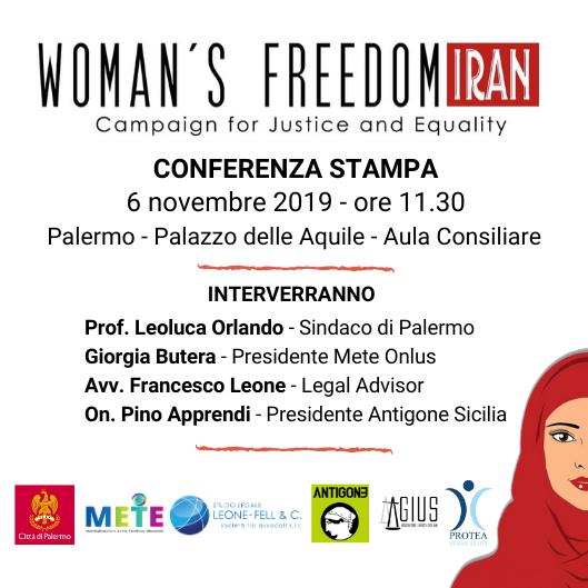 Woman's Freedom Iran