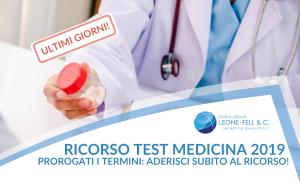 Ricorso test medicina