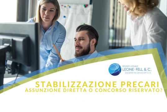 stabilizzazione precari