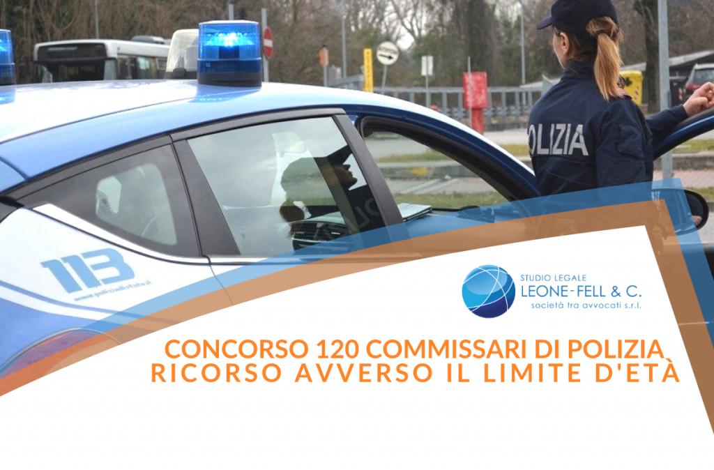120 commissari polizia