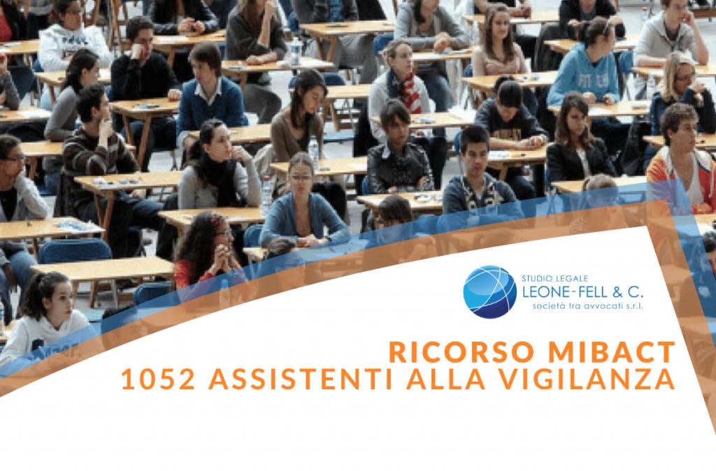 1052 assistenti alla vigilanza