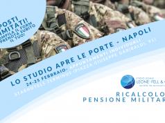 ricalcolo pensione militare