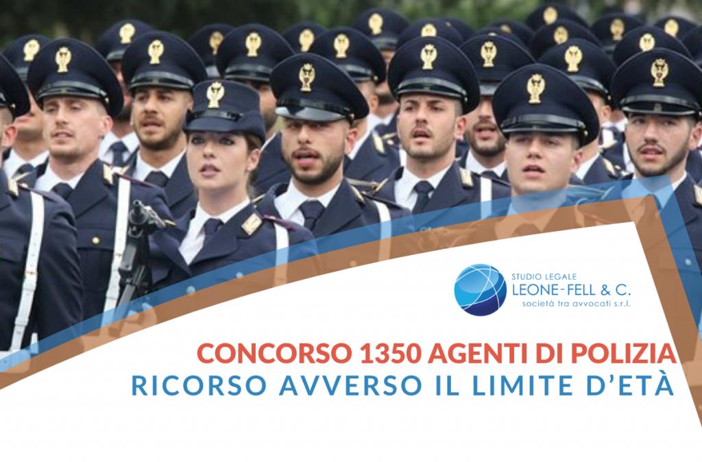 1350 agenti di polizia
