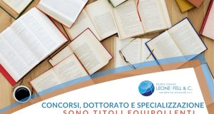 dottorato e specializzazione