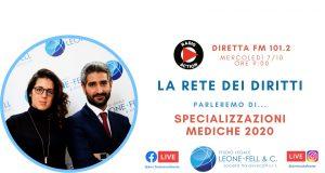 Specializzazioni mediche 2020