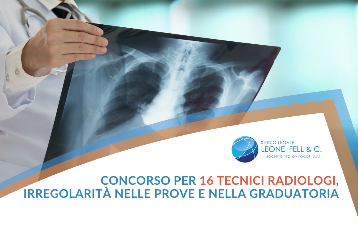 16 tecnici radiologi