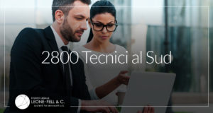 2800 tecnici al sud