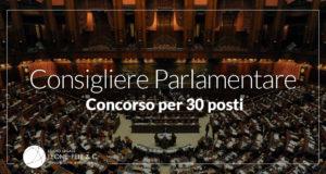 consigliere parlamentare