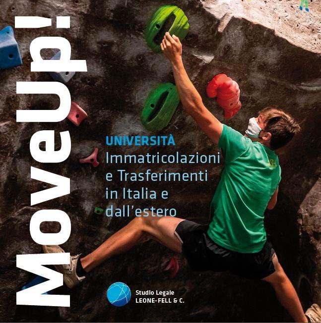 MoveUp! 2021 - Immatricolazioni e trasferimenti in Italia e dall'estero